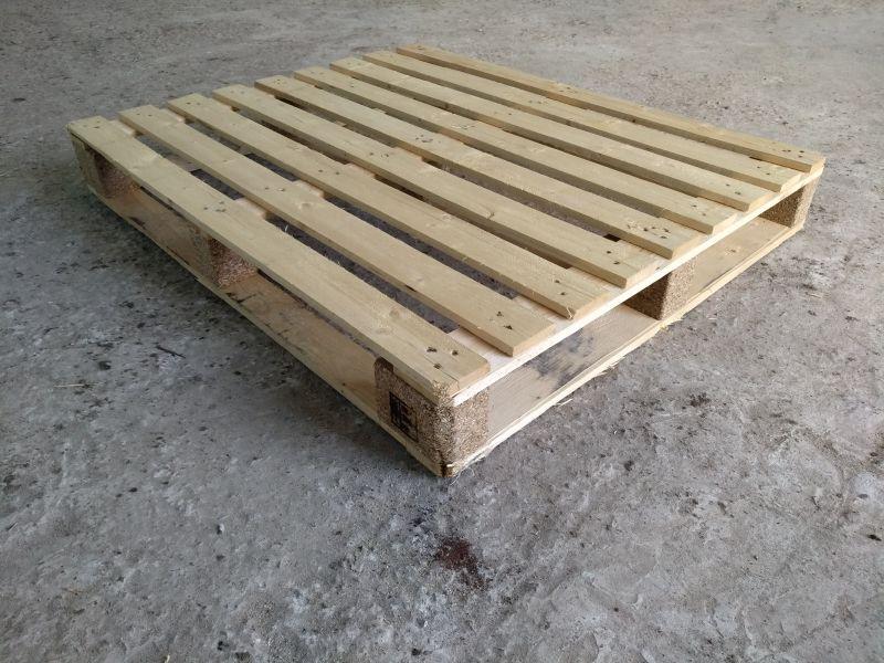 Поддон деревянный 1200*1000 рамка облегченный б/у 1 сорт
