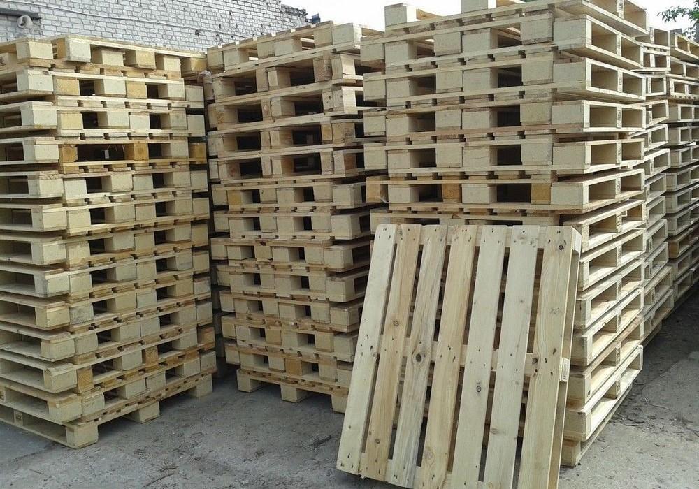 Поддоны деревянные и пластиковые